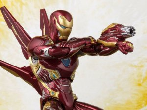 Homem de Ferro Mark 50 com Nano armas Vingadores Guerra infinita Marvel S.H. Figuarts Bandai Original