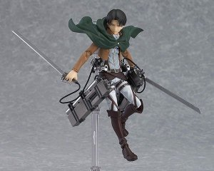 Levi Attack on Titan Figma Max Factory Original