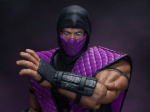[EXCLUSIVO NYCC 2018] Rain Mortal kombat Storm Collectibles Original