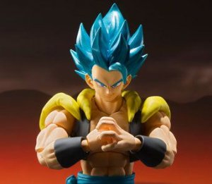 Gogeta Super Saiyajin God Dragon Ball Super Broly S.H.Figuarts Bandai Original
