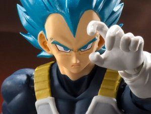 Vegeta Super Saiyajin God Super Saiyajin Dragon Ball Super Broly S.H. Figuarts Bandai Original