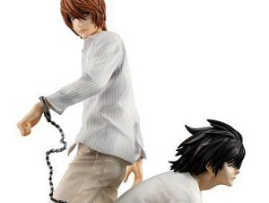 Light Yagami & L Death Note G.E.M. Series Megahouse Original
