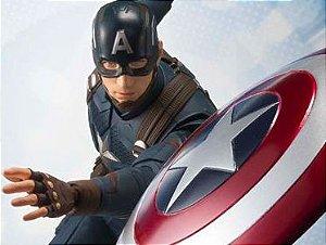 Capitão America Vingadores Ultimato S.H. Figuarts Bandai Original
