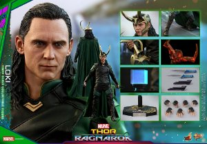 Loki Thor Ragnarok Movie Masterpieces Hot Toys Original