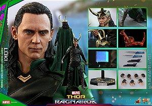 Loki Thor Ragnarok Movie Masterpieces Hot Toys Original