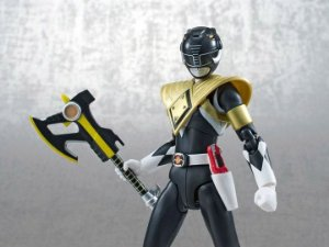 [SDCC 2014 Exclusivo] Ranger Preto Blindado Power Rangers Mighty Morphin S.H.Figuarts Bandai Original