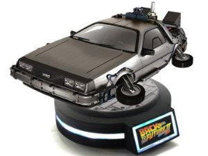 Delorean Back To The Future KidsLogic Magnetic Floating Original