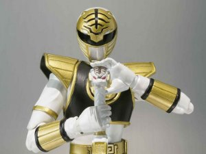 Ranger Branco Power Rangers Mighty Morphin S.H.Figuarts Bandai Original