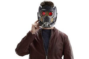 Capacete Eletrônico Star lord Guardiões da Galaxia Marvel Legends Series Hasbro Original