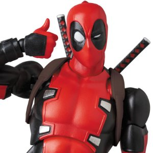 Deadpool Gurihiru Art Marvel Comics Mafex No.082 Medicom Toy Original