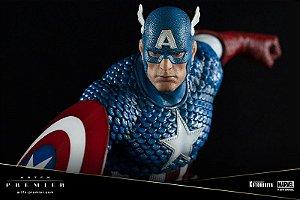 Capitão america Marvel Universe ARTFX Premier Easy Assembly Kit Kotobukiya Original
