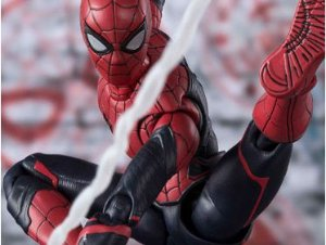 Homem Aranha Traje Atualizado Longe de Casa S.H. Figuarts Bandai Original