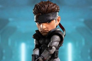 Solid Snake Metal Gear Solid First 4 Figures Original