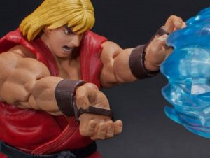 Ken Masters Street Fighter II Ultra Storm Collectibles Original