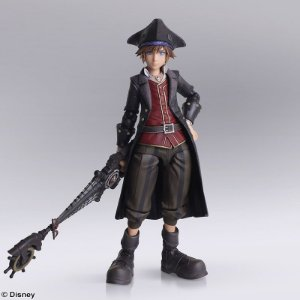 Sora Piratas do Caribe Kingdom Hearts Bring Arts Square Enix Original