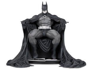 Batman Branco e Preto Marc Silvestri DC Comics DC Collectibles Original