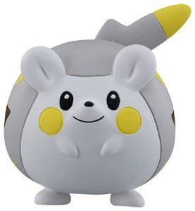 Togedemaru Pokemon Moncolle EMC_06 Takara Tomy original