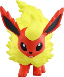 Flareon Pokemon Moncolle EMC_24 Takara Tomy original