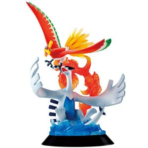 Ho-oh e Lugia Pokemon G.E.M. Series MegaHouse Original