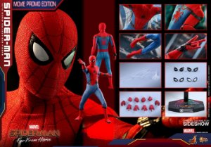 Homem Aranha Longe de Casa Movie Masterpiece Hot Toys Original