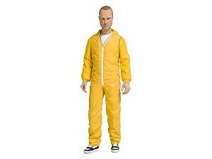 Jesse Pinkman Traje de proteção amarelo Breaking Bad Mezco Toyz Original