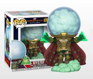 Mysterio Homem Aranha Longe de casa Marvel Comics Pop Funko Original