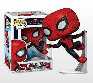 Homem aranha versão traje atualizado Homem Aranha Longe de casa Marvel Comics Pop Funko Original