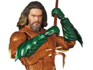 Aquaman MAFEX No.095 Medicom Toy Original