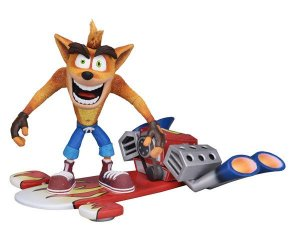 Crash Bandicoot Hoverboard Crash Bandicoot Neca Original