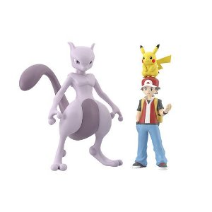 Red e set pokemons Pokemon Scale World Bandai Original