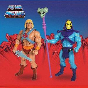 He-man & Esqueleto He-man e os mestres do universo Super7 Original