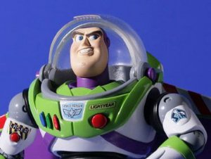 Buzz Lightyear Toy Story Revoltech Kaiyodo Original