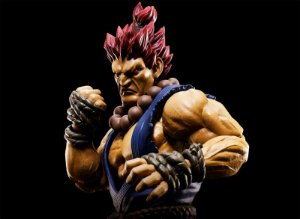 Akuma Street Fighter S.H. Figuarts Bandai Original