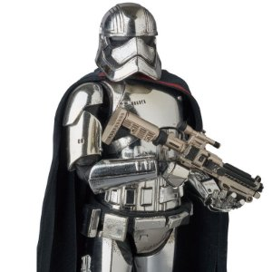 Captain Phasma Star Wars O despertar da força Mafex No.028 Medicom Toy Original