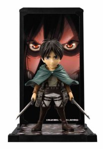 Eren Yeager Attack on TItan Tamashii Buddies Bandai Original