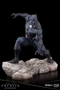 Pantera Negra Marvel Comics Artfx Premier Kotobukiya Original