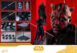 Darth Maul Solo: Uma história Star Wars Movie Masterpiece Dx Hot Toys Original