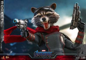 Rocket Raccoon Vingadores Ultimato Movie Masterpiece Hot Toys Original