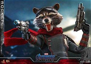 Rocket Raccoon Vingadores Ultimato Movie Masterpiece Hot Toys Original