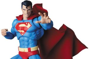 Superman Batman Hush DC Comics Mafex No.117 Medicom Toy Original