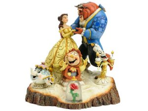 Bela e a Fera Disney Traditions Enesco Original