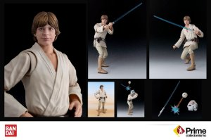 Luke Skywalker Star Wars S.H. Figuarts Bandai Original