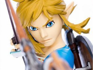 Link The Legend of Zelda First 4 Figures Original