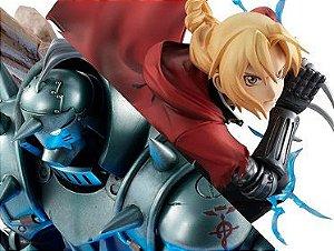 Edward Elric & Alphonse Elric Fullmetal Alchemist G.E.M. MegaHouse Original