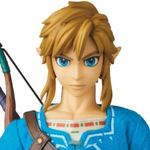 Link The Legend of Zelda Breath of the Wild Real Action Heroes No.764 Medicom Toy Original
