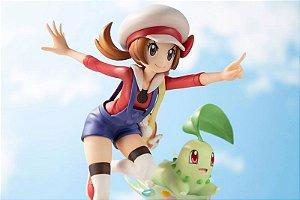 Chikorita e Lyra Pokemon Artfx j Kotobukiya Original