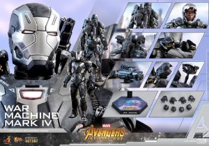 War Machine Mark IV Vingadores Guerra infinita Marvel Movie Masterpieces Hot Toys Original