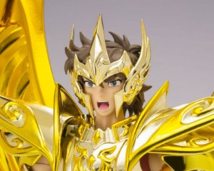 Aioros de Sagitário Cavaleiros do Zodiaco Saint Seiya Soul of Gold Cloth Myth Ex Bandai Original