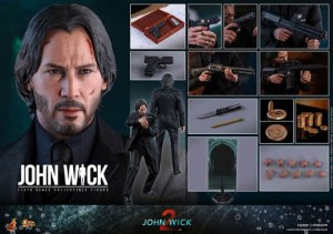 John Wick 2 Movie Masterpiece Hot Toys Original
