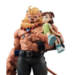 Leomon & Juri Kato Digimon Tamers G.E.M. Series Megahouse Original